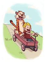 Let's Go on a Wagon Ride by stinawo