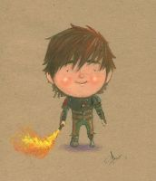Best Buds - Hiccup by patrickianmoss