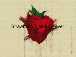 Strawberry Fields Forever Graphic by sasukeissohot97