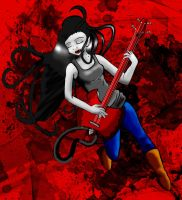 Marceline: The Vampire Queen by combototheoblivion