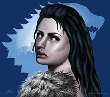 Lyanna Stark by Nicky-8D