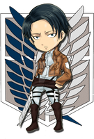 AoT : Levi by aura13aias