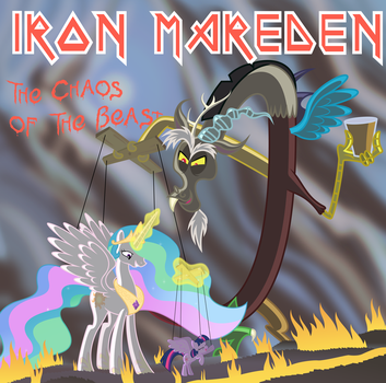 Iron Mareden : The Chaos of the Beast by Martinnus1