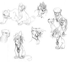lots of lions by tigrin