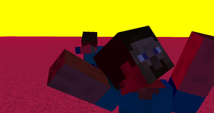 Adventures of Steve and Herobrine 7: High? by Americanaooni