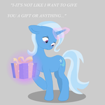 Trixie has something for you by MisterKaito