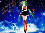 Cute But Deadly Halloween Miku 2014~! by TheChaoticMuffin