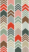 Chevron- Midcentury Modern Palette by AHelton84