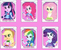 EQG characters by Daring-danger-do