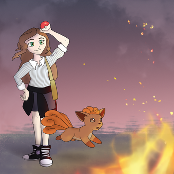Trainer: Slotherfox by A-Hippocampus