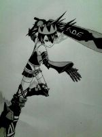 Black Rock Shooter Beast by Yoruny