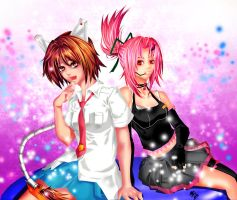 COM- Rulia n Sora by AniArie