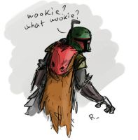 Star Wars, robot chicken, 3 by Ayej