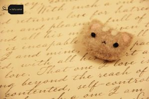 needle felt Cat (forsale) by FluffyParcel