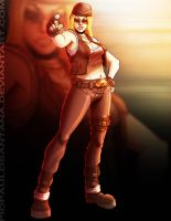 Dead Or Alive: Tina Armstrong by PioPauloSantana