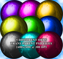 Marble Orbs Stock Pack by Aazari-Resources