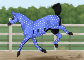 Magic Playing in his onesie by emmy1320