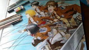 Attack on Titan!! by TheSassyFox