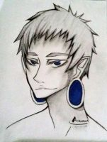 What are those holes in his ears? by Achonan