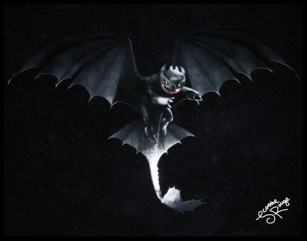 HTTYD - Toothless by ScottieRouge
