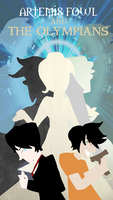 Artemis Fowl and the Olympians the Cover by TroublesomeGnome
