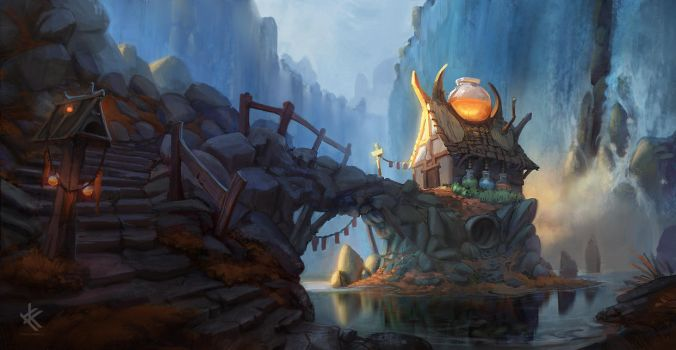 The Potion Masters House by Chris-Karbach