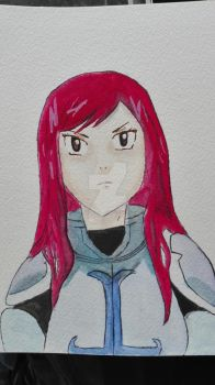 Erza from fairy tale by Penholderart