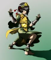 Toph Bei Fong by PioPauloSantana