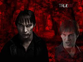 TrueBlood Bill Wallpaper by cdh1994