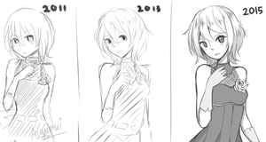 Every 2 years sketch! by Aruella