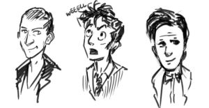 And Three More Doctors by Alda-Rana