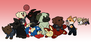 Pupvengers by Noobynewt