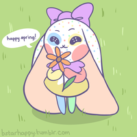 happy spring by msdeerborn