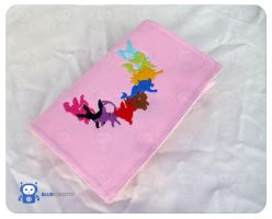 Eeveevolutions 3DS XL pouch by BlueRobotto