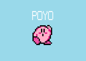 Poyo Kirby by LaughingKirby