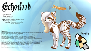 .: Reference Sheet Echoflood 2015 :. by Meshion