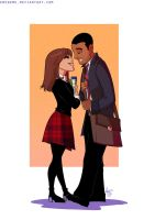 Clara and Danny by emedeme