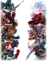 Marvel vs Capcom by PrinceofUkraine