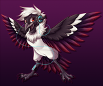 Commission: Ryou Fursona by AttackTheMap
