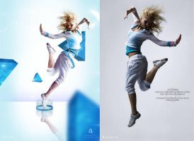 blue break dance i before -after by johngiannis27