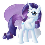 Fabulous Rarity by SkyHeavens