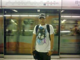 in front of MTR HK by markusmanson