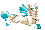 Angelfonds pixel commission number one by nightspiritwing