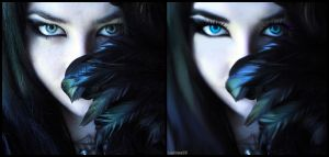 .:Blue Eye:. by lavina15