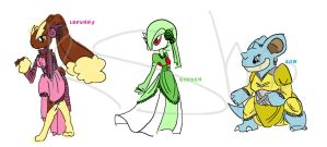 Pokemon West Desings by Kisshu-Neko