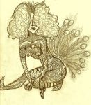 Paisley Peacock by Migratory-Coconut