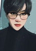 Suga glasses by Cosmicpens