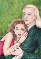 HP Hermione and Lucius by Verlisaerys