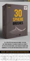 30 Abstract Sphere Brushes by iorkdesign