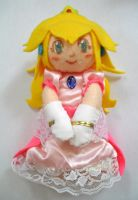 Plushie: Princess Peach by dolphinwing